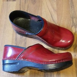 Dansko | Red Patent Leather Professional Clog Shoe